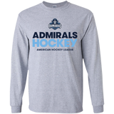 Milwaukee Admirals Hockey Youth Long Sleeve T-Shirt