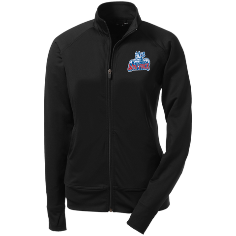 Hartford Wolf Pack Ladies' Athletic Stretch Full Zip Jacket