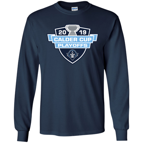 Milwaukee Admirals 2019 Calder Cup Playoffs Youth Long Sleeve T-Shirt