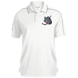 Chicago Wolves Micropique Sport-Wick Piped Polo