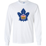 Toronto Marlies Primary Logo Adult Long Sleeve T-Shirt