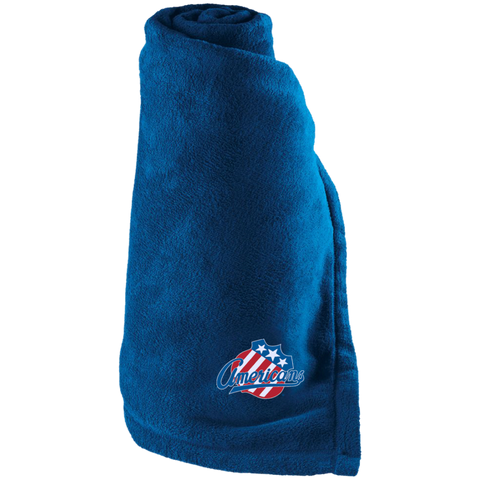 Rochester Americans Large Fleece Blanket