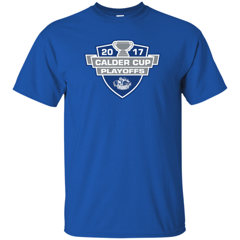Syracuse Crunch Adult 2017 Calder Cup Playoffs Short Sleeve T-Shirt