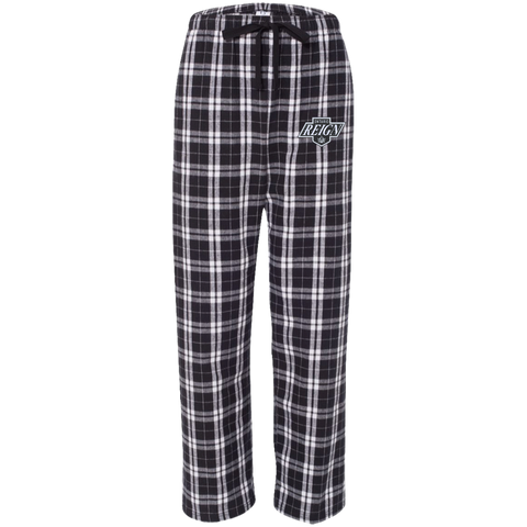 Ontario Reign Unisex Custom Embroidered Flannel Pants