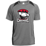 Charlotte Checkers Youth Colorblock Performance T-Shirt