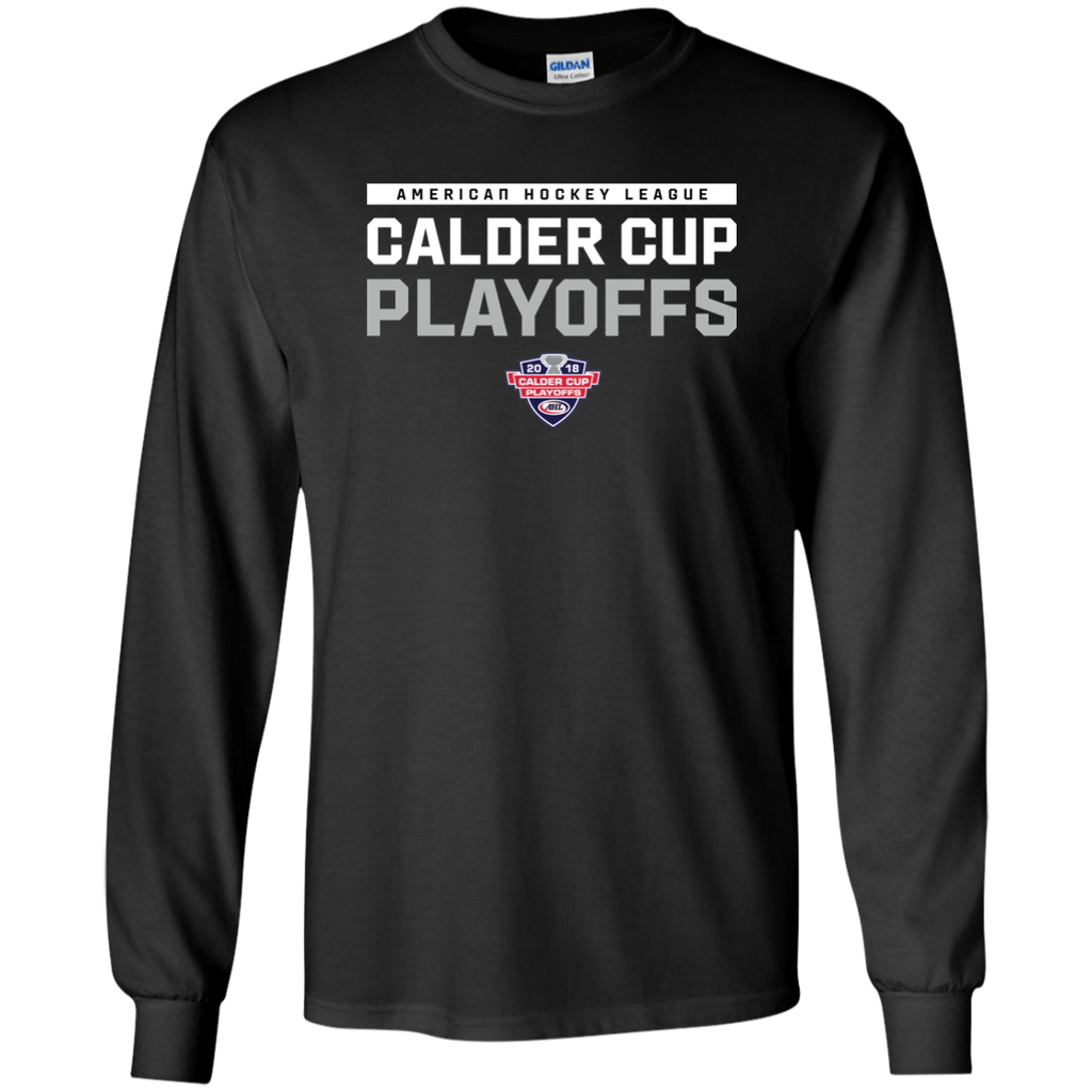 2018 Calder Cup Playoffs Adult Long Sleeve Cotton T-Shirt