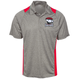 Charlotte Checkers Heather Moisture Wicking Polo