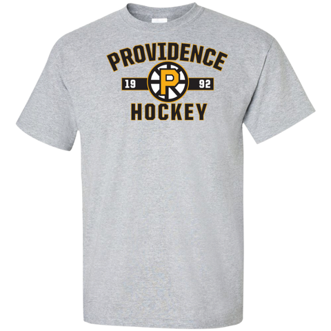 Providence Bruins Adult Established Tall Cotton T-Shirt