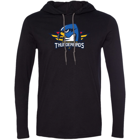 Springfield Thunderbirds Primary Logo Long Sleeve T-Shirt Hoodie