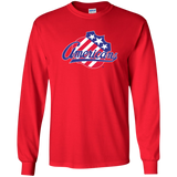 Rocheser Americans Primary Logo Adult Long Sleeve Shirt