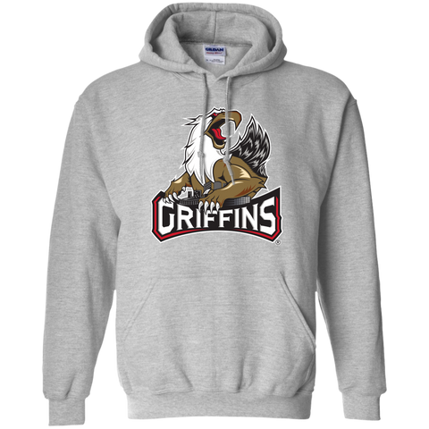 Grand Rapids Griffins Primary Logo Adult Pullover Hoodie