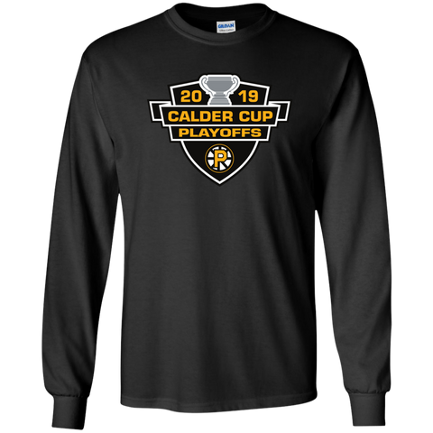 Providence Bruins 2019 Calder Cup Playoffs Youth Long Sleeve T-Shirt