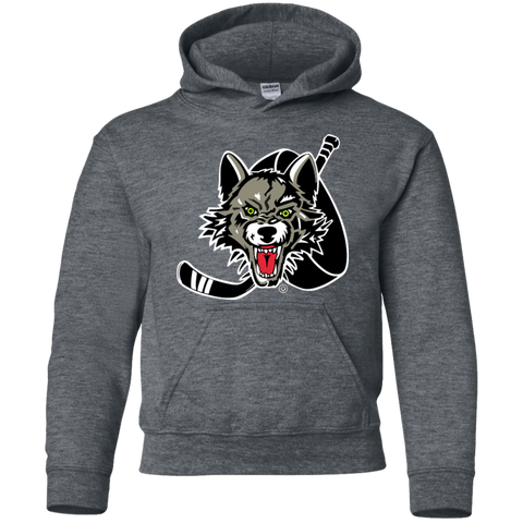 Chicago Wolves Youth Pullover Hoodie