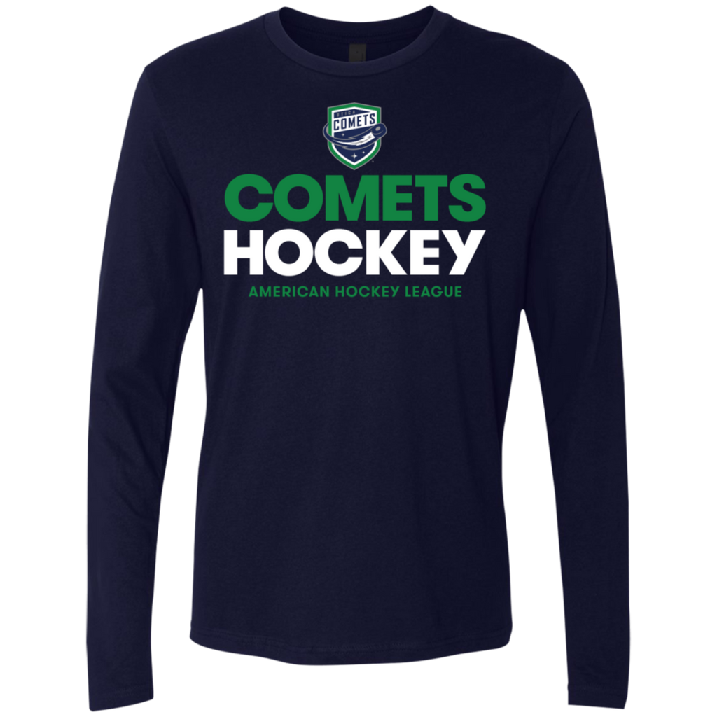 Utica Comets Hockey Next Level Men's Premium Long Sleeve T-Shirt