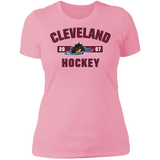 Cleveland Monsters Established Next Level Ladies' Short Sleeve T-Shirt