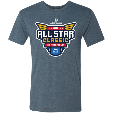 2019 AHL All Star Classic Primary Logo Next Level Men's Triblend T-Shirt