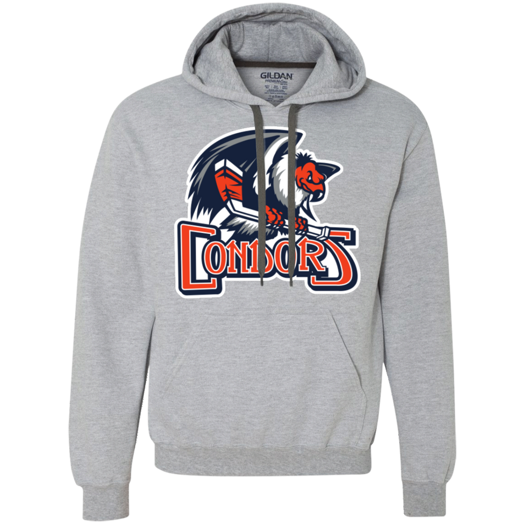 Bakersfield Condors Primary Logo Heavyweight Pullover Hoodie