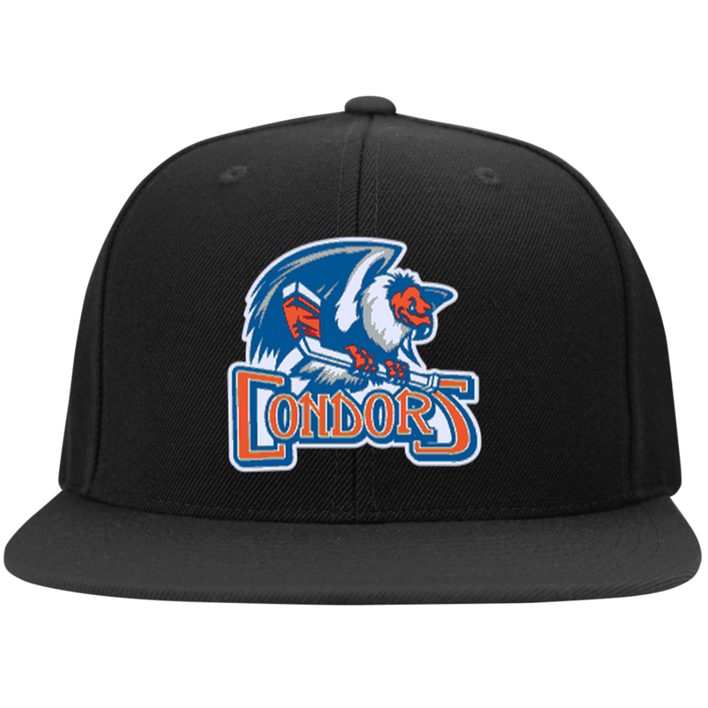 Bakersfield Condors Flat Bill High-Profile Snapback Hat