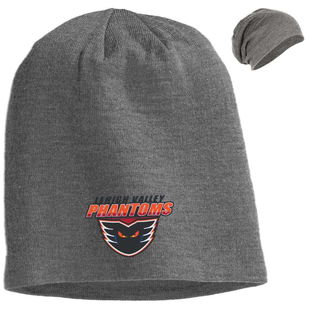 Lehigh Valley Phantoms Slouch Beanie - Gray