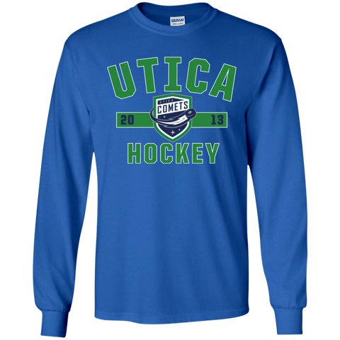 Utica Comets Established Youth Long Sleeve T-Shirt