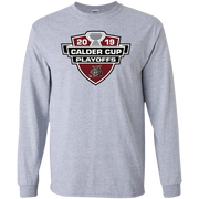 Chicago Wolves 2019 Calder Cup Playoffs Adult Long Sleeve Cotton T Shirt