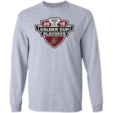 Chicago Wolves 2019 Calder Cup Playoffs Adult Long Sleeve Cotton T-Shirt