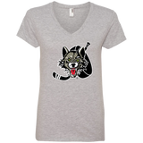 Chicago Wolves Ladies' V-Neck Tee