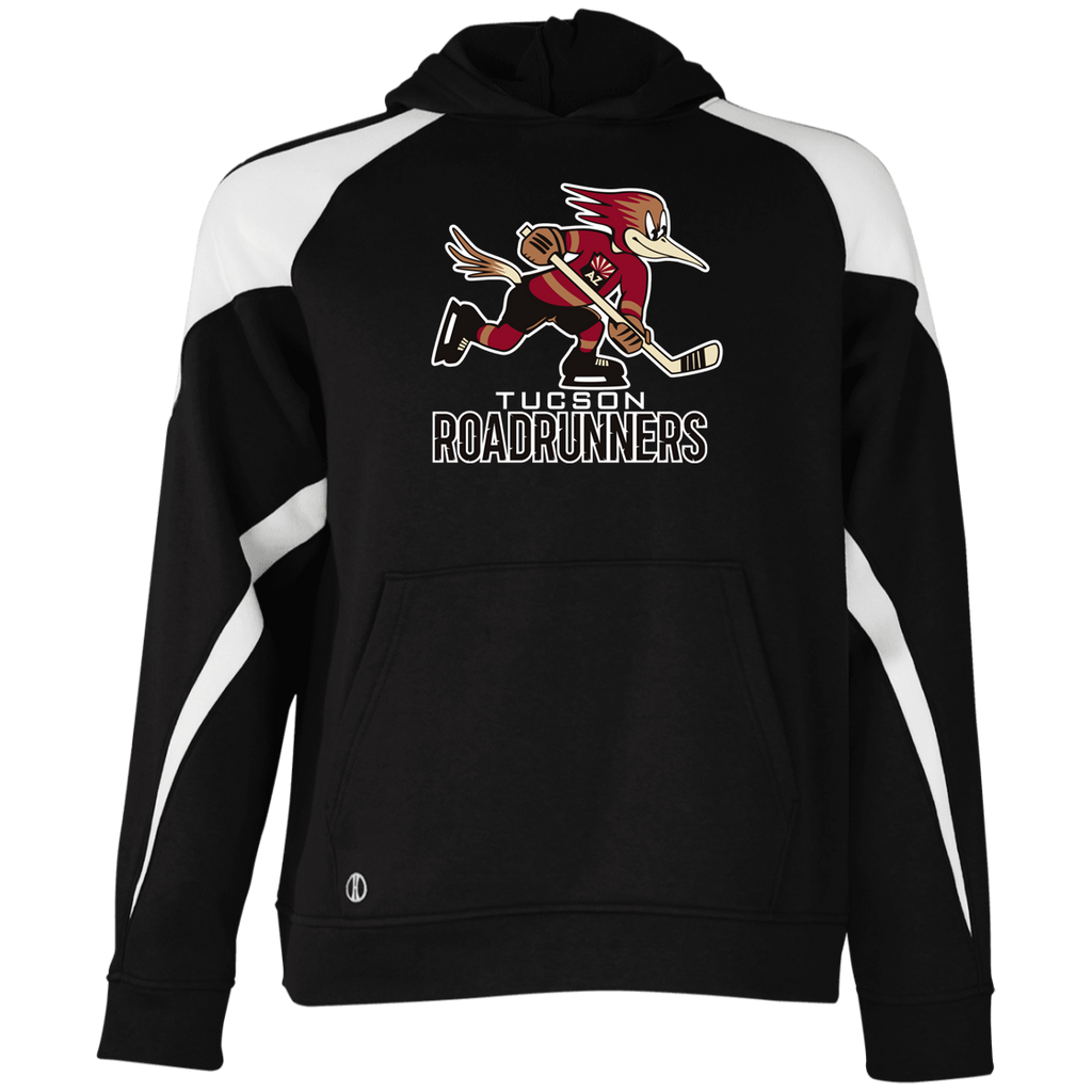 Tucson Roadrunners Primary Logo Youth Colorblock Hoodie