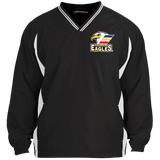 Colorado Eagles Tipped V-Neck Windshirt