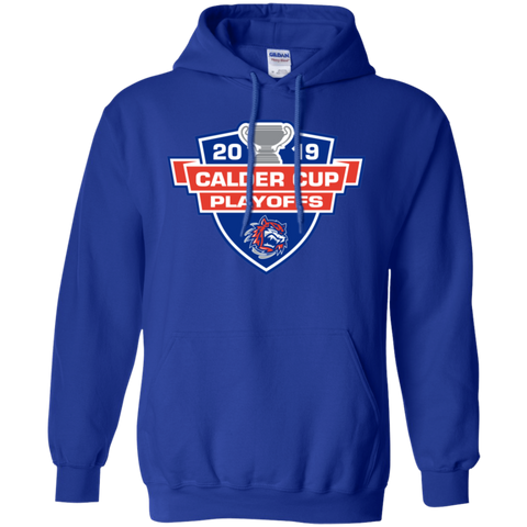 Bridgeport Sound Tigers 2019 Calder Cup Playoffs Adult Pullover Hoodie