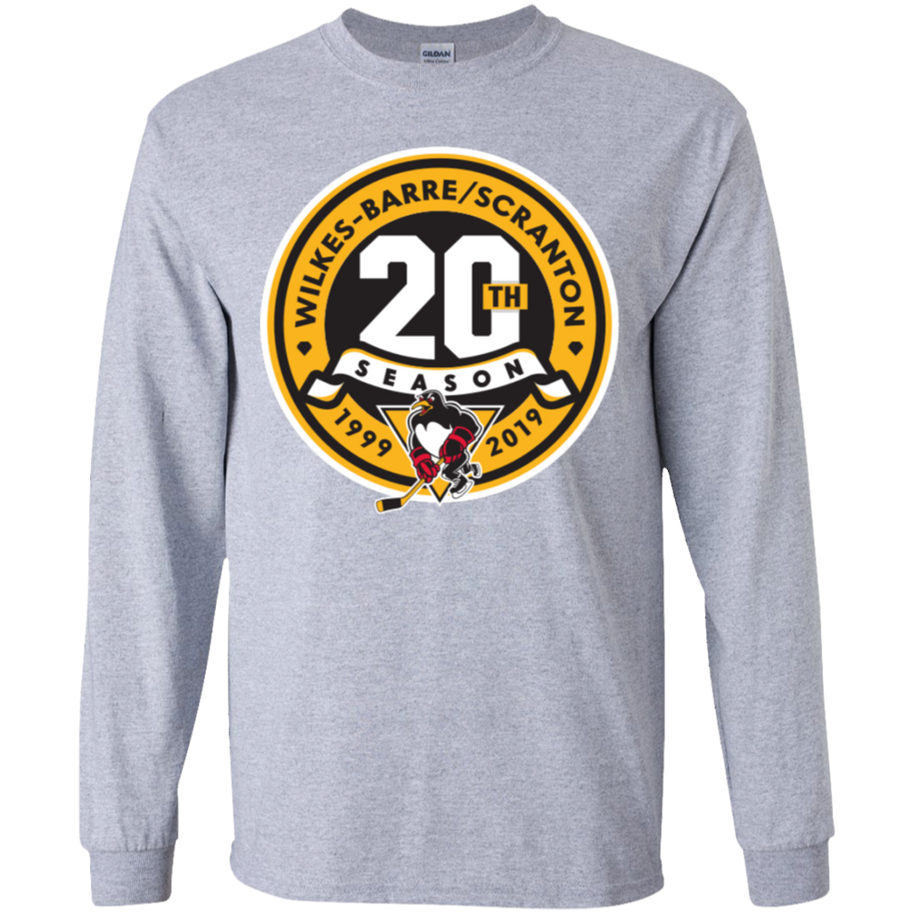 Wilkes-Barre/Scranton Penguins 20th Anniversary Youth Long Sleeve T-Shirt