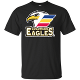 Colorado Eagles Primary Logo Youth Short Sleeve T-Shirt