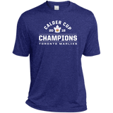 Toronto Marlies 2018 Calder Cup Champions Arch Adult Heather Dri-Fit Moisture-Wicking T-Shirt