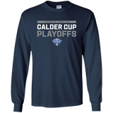 Toronto Marlies Adult 2018 Postseason Long Sleeve Cotton T-Shirt