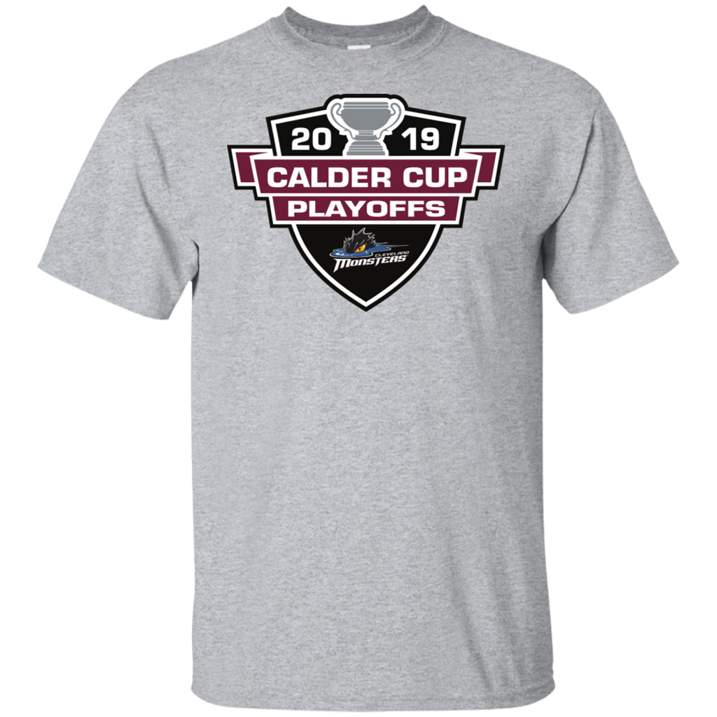 Cleveland Monsters 2019 Calder Cup Playoffs Youth Cotton T-Shirt