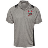 Binghamton Devils Heather Moisture Wicking Polo