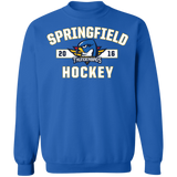 Springfield Thunderbirds Adult Established Crewneck Sweatshirt