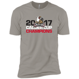 Grand Rapids Griffins 2017 Calder Cup Champions Next Level Premium Adult Distressed Short Sleeve T-Shirt
