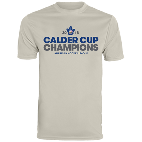 Toronto Marlies 2018 Calder Cup Champions Crown Men's Wicking T-Shirt