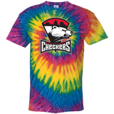 Charlotte Checkers Adult Tie Dye T-Shirt