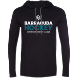 San Jose Barracuda Hockey Primary Logo Adult Long Sleeve T-Shirt Hoodie