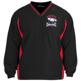 Charlotte Checkers Adult Tipped VNeck Wind Shirt