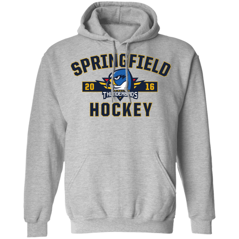 Springfield Thunderbirds Adult Established Pullover Hoodie