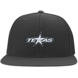 Texas Stars Flat Bill Twill Flexfit Cap