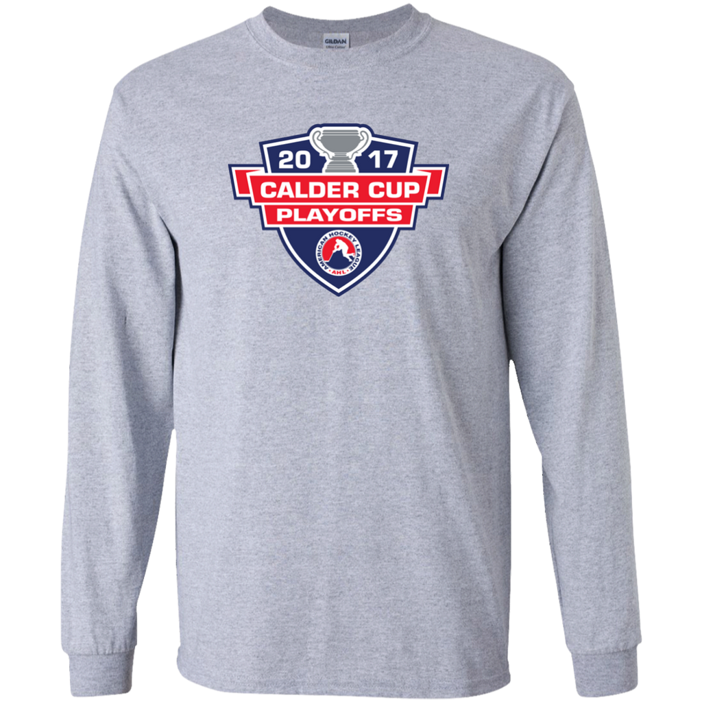 2017 Calder Cup Playoffs Adult Long Sleeve Primary Logo T-Shirt