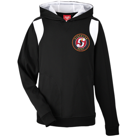 Stockton Heat Team 365 Youth Colorblock Poly Hoodie