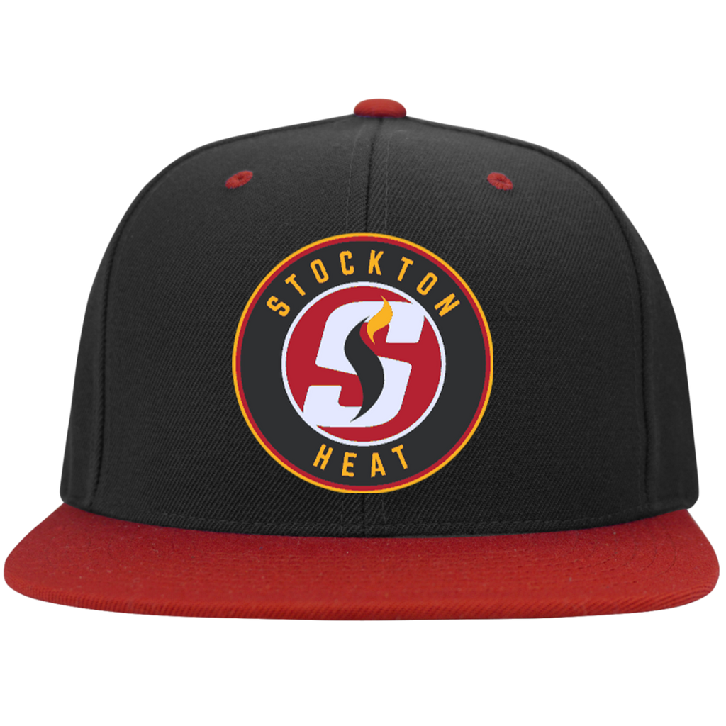 Stockton Heat Flat Bill High-Profile Snapback Hat