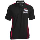 Charlotte Checkers Men's Colorblock 3-Button Polo