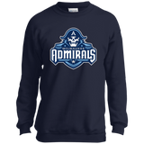 Milwaukee Admirals Youth Crewneck Sweatshirt