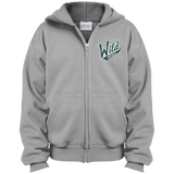 Iowa Wild Youth Embroidered Full Zip Hoodie